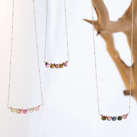 Summer Harvest - Multi Tourmaline Necklace