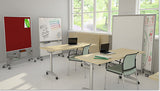 Rolling Charter Mobile Whiteboard by Rollin' Products - Collaboration Boards - 4