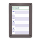 Custom Calendar and Schedule Personal Whiteboards by Iceberg - Collaboration Boards - 3