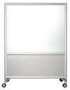 Rolling Frontage Mobile Whiteboard by Rollin' Products - Collaboration Boards - 4