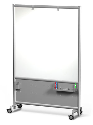 Rolling Frontage Mobile Whiteboard by Rollin' Products - Collaboration Boards - 1