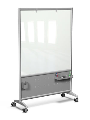 Mobile Rolling Glass Board by Rollin' Products - Collaboration Boards - 1