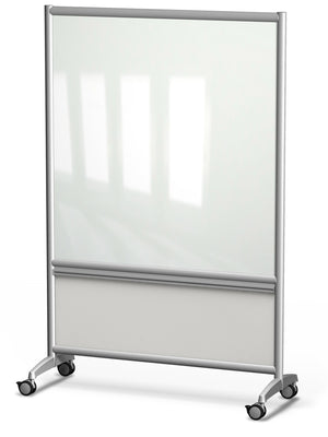 Annex Mobile Rolling Glass Board by Merge Works