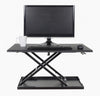 "Level Up 32"" Pneumatic Adjustable Desktop Desk by Luxor"
