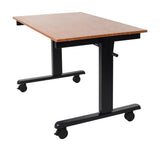 48″ Crank Adjustable Stand Up Desk by Luxor