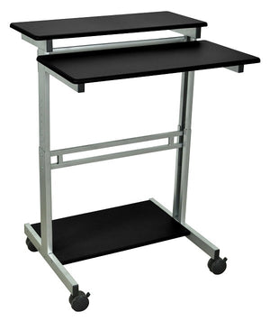 31.5″ Adjustable Stand Up Workstation by Luxor