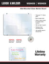 Wall Mounted Glassboards by Luxor - Collaboration Boards - 6