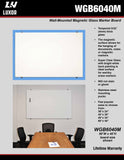 Wall Mounted Glassboards by Luxor - Collaboration Boards - 5