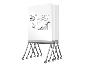 Roam Mobile Rolling Whiteboard by Ghent