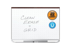 Prestige® 2 Total Erase® Magnetic Whiteboards, Mahogany Finish Frame