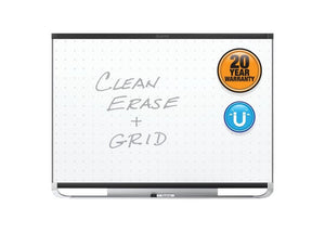 Prestige® 2 Total Erase® Magnetic Whiteboards, Black Aluminum Frame