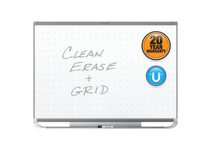 Prestige® 2 Total Erase® Magnetic Whiteboards, Graphite Finish Frame