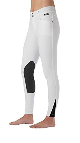 Kerrits Cross-Over Breech Kneepatch - Huge selection of colors and sizes D2427 | Ideana