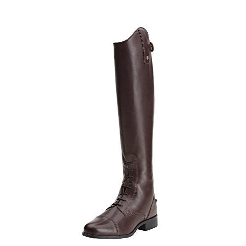 Ariat Womens Tall Riding Boots, Heritage Contour Field Zip  / Medium(Width) Slim(Calf) Short(Height) Sienna D2501 | Ideana