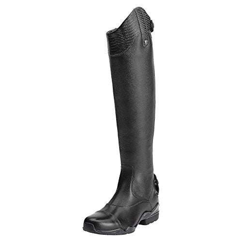 Ariat Womens Tall Riding  Boots, Volant S Tall Zip / Medium(Width) Full(Calf) Medium(Height) Black D2496 | Ideana