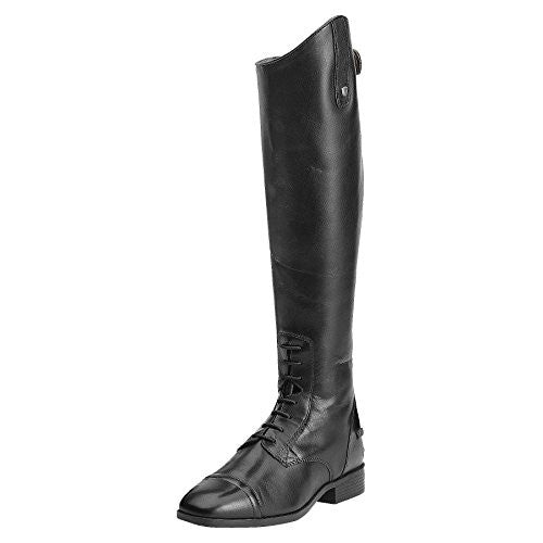 Default Title Ariat Womens Tall Riding Boots, Challenge Contour Sq Toe Zip, Medium(Width) Slim(Calf) Medium(Height) Black Calf | Ideana