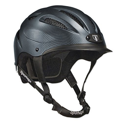 Tipperary Sportage 8500 Riding Helmet Extra Small, Cocoa Brown | Ideana
