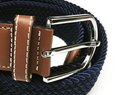 Blue Elasticated Belt for Horse Riding | Ideana