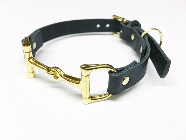Equine Leather Dog Collar D2295 | Ideana