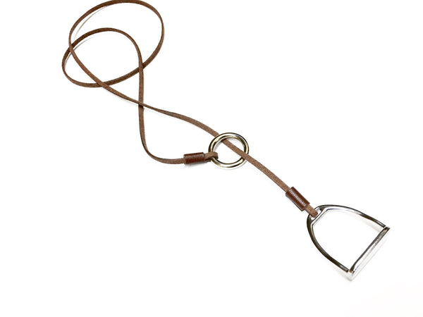 Cheval Stirrup Choker Necklace - C1