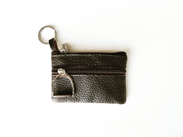 Light Brown Coin Purse and Key Holder | Ideana
