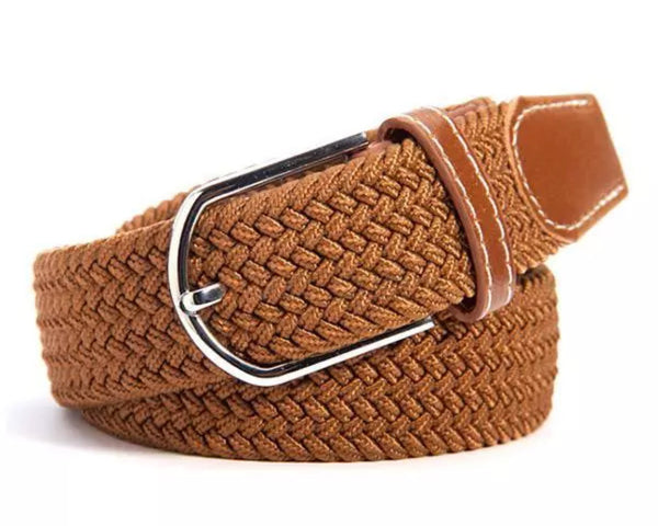 Woven Elastic Equestrian Belt, featuring Horse Stirrup by Ideana