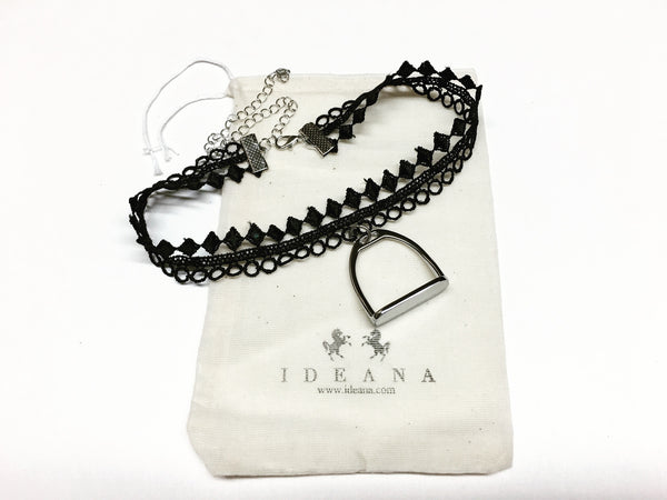 Equestrian Choker Necklace    | Ideana