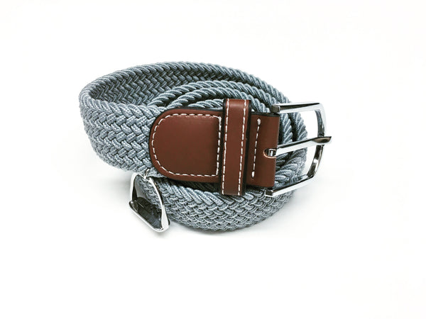 Woven Equestrian Belt with Stirrup Charm W2914 | Ideana