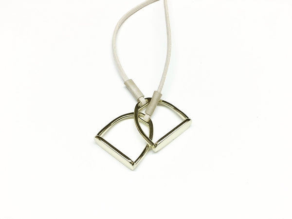 stirrup-necklace L3223 | IDEANA