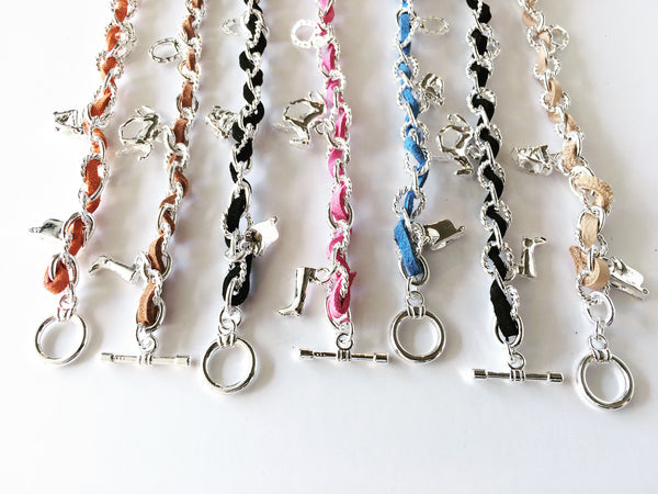 Equestrian Horse Charm Bracelet | Ideana