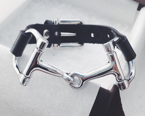 Equestrian Snaffle Bracelet for Women B3947 | Ideana