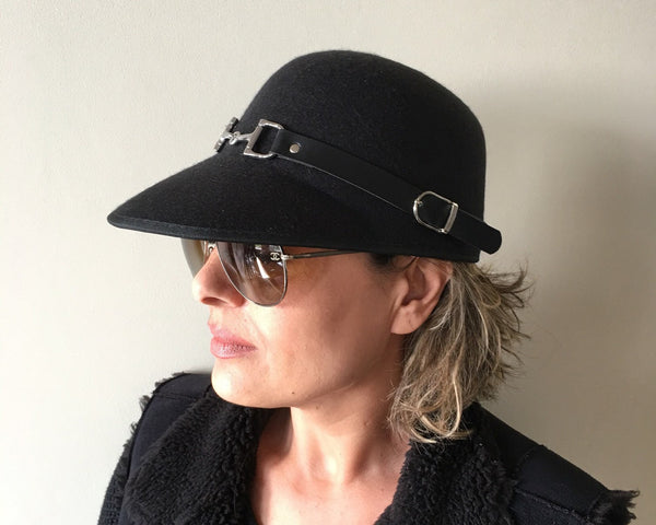 Dressage Cloche Hat W3068 | Ideana