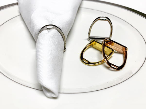 Napkin Rings - Set of 4 or 8 S1034 | Ideana