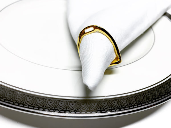Napkin Rings - Set of 4 or 8 S1033 | Ideana