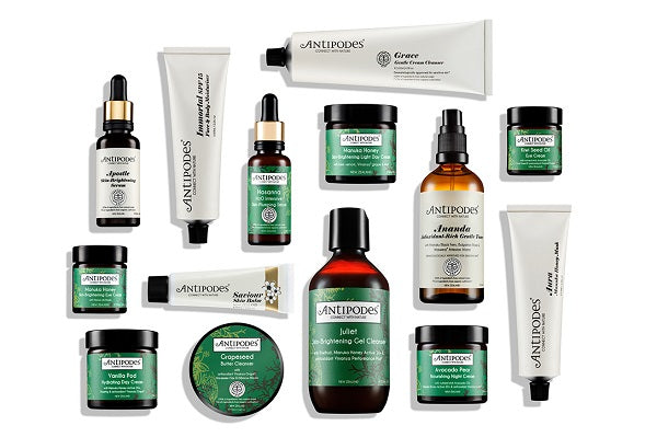 Antipodes - highly innovative scientific organic beauty brand from New Zealand. Shop Antipodes at One Fine Secret. Natural Organic Skincare & Makeup Clean Beauty Store in Melbourne, Australia.
