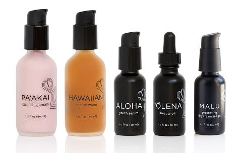 Products in order for the Honua Skincare Routine - One Fine Secret