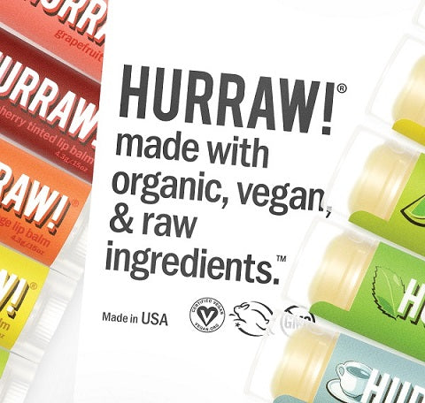 Natural, vegan, cruelty free lip balm made from premium raw and organic ingredients. Shop Hurraw at One Fine Secret. Natural Organic Skincare & Makeup Clean Beauty Store in Melbourne, Australia.