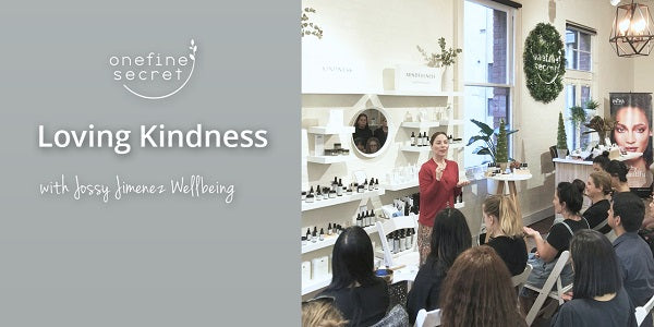 Loving Kindness talk at One Fine Secret