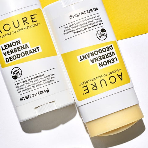 Buy Acure Deodorant Lemon Verbena 63g at One Fine Secret. Natural & Organic Skin & Body Care Beauty Store in Melbourne, Australia.