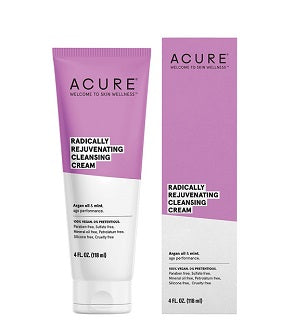 Natural & Organic Cleanser. Buy Acure Radically Rejuvenating Cleansing Cream 118ml at One Fine Secret. Natural & Organic Skincare Store in Melbourne, Australia.