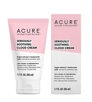 Buy Acure Seriously Soothing Cloud Cream 50ml at One Fine Secret. Natural & Organic Skincare Store in Melbourne, Australia.