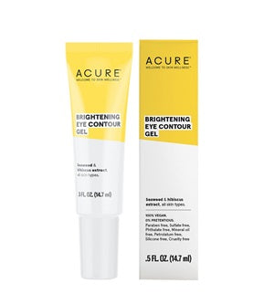Natural & Organic Eye Serum. Buy Acure Brilliantly Brightening Eye Contour Gel 14.7ml at One Fine Secret. Natural & Organic Skincare Store in Melbourne, Australia.
