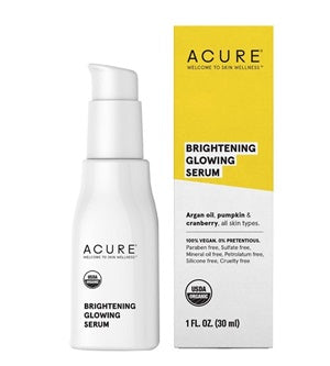 Buy Acure Brightening Glowing Serum 30ml at One Fine Secret. Natural & Organic Skincare Store in Melbourne, Australia.