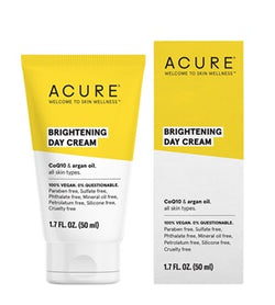 Buy Acure Brilliantly Brightening Day Cream 50ml at One Fine Secret. Natural & Organic Skincare Store in Melbourne, Australia.