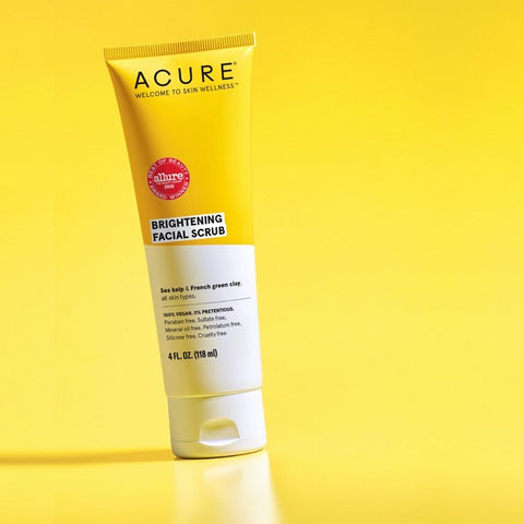 Buy Acure Brightening Facial Scrub at One Fine Secret. Acure Skin & Hair Care Official Retailer in Melbourne, Australia.