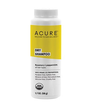 Natural & Organic Dry Shampoo. Acure Dry Shampoo 58g [All Hair Types] - One Fine Secret