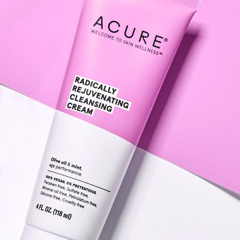 Natural & Organic Cleanser. Acure Radically Rejuvenating Cleansing Cream 118ml - One Fine Secret