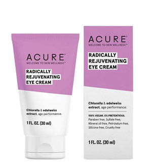 Natural & Organic Eye Cream. Acure Radically Rejuvenating Eye Cream 30ml - One Fine Secret
