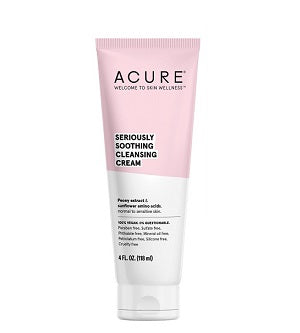 Buy Acure Seriously Soothing Cleansing Cream at One Fine Secret. Natural & Organic Skincare Store in Melbourne, Australia.
