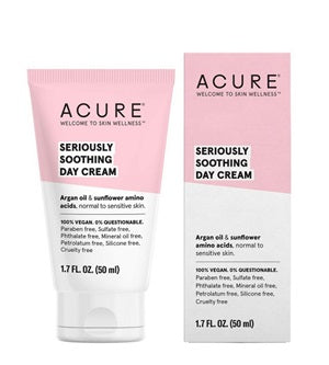 Buy Acure Seriously Soothing Day Cream at One Fine Secret. Natural & Organic Skincare store in Melbourne, Australia.